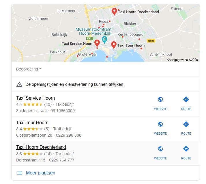 Google maps 3 pack in zoekresultaten Hoger scoren in Google Maps? Zo doe je dat in 2020!