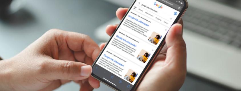 beeld extensie google ads